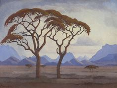 Teeth ought to last you an entire lifetime, it is therefore critical to look after them. Dental health is an easy matter to attain. Landscape Illustration, Watercolor Landscape, Landscape Art, Landscape Paintings, Watercolor Art, African Tree, South African Artists, Witch Art, Art Pictures