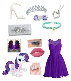 """Rarity Prom/Party outfit"" by innisbrook on Polyvore featuring Bling Jewelry and Lime Crime"