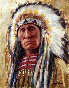 Lakota Leader - by James Ayers