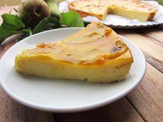 tarta de pera, fácil, fresquita y deliciosa! - Una pincelada en la cocina