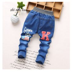 Cool Spring and Autumn Fashion jeans children clothes 2-5 year old boys girls jeans, cartoon printing casual pants high quality 2017 - $20.76 - Buy it Now! Check more at http://kidshopglobal.com/kids-and-baby-shop-online/childrens-clothing/girls-clothing/girls-jeans/spring-and-autumn-fashion-jeans-children-clothes-2-5-year-old-boys-girls-jeans-cartoon-printing-casual-pants-high-quality-2017/