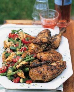 Simple Salt-and-Pepper Grilled Chicken Recipe -- an easy, three-ingredient entree.