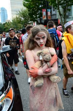 Vancouver Zombie Walk 2012, via Flickr.