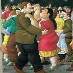 Fernando Botero...love him! Famous Colombian painter- Incomprendido