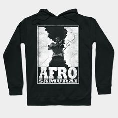 Our lightweight hoodie option; Afro Samurai, Cool Graphic Tees, Afro Hairstyles, Funny Design, Graphic Sweatshirt, T Shirt, Tshirts Online, Laptop Sleeves, Hoodies