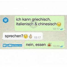 Lustige WhatsApp Bilder und Chat Fails 226 - Griechisch, italienisch, chinesisch