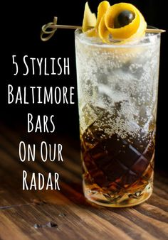 Scattered around the city, housed in former row homes and staffed by dedicated mixologists, are five of the most creative and atmospheric cocktail bars in Baltimore.