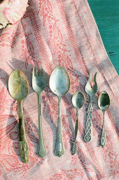 Antique silverware | Anna Dobrydneva Photography
