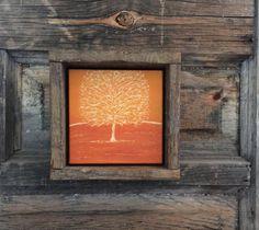 Fall Home Decor, Hand Engraved Wood, Rustic Wall Art, Primitive, Shelf Mantle…