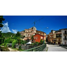 Basilicata, BRIENZA (PZ) - il borgo osservato dal Ponte Vecchio