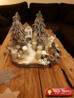 noel design Most current Photo christmas fairy garden Tips You will find a great number of amazing fairy back gardens on the net but it can be overwhelming to receive st. White Christmas Ornaments, Decoration Christmas, Wooden Christmas Trees, Christmas Fairy, Modern Christmas, Christmas Time, Christmas Wreaths, Miniature Christmas, Christmas Arrangements