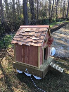 Backyard Chicken Coops, Backyard Farming, Ponds Backyard, Backyard Ducks, Duck House Plans, Duck Pens, Goose House, Floating Garden, Floating Dock