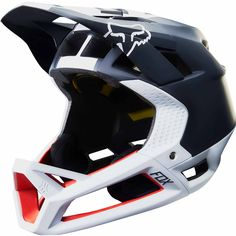 Fox Proframe Libra Helmet – Black and White – don't sacrifice protection at the expense of breathability, have it all with the new Proframe – Free Delivery and Finance also available at Stif.co.uk ...