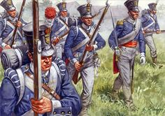 Dutch infantry, Waterloo