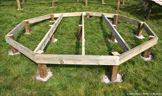 71 meilleures images du tableau Construction terrasse bois ...