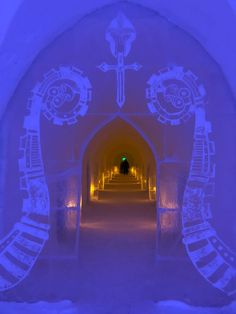 While most people in Northern Norway are longing for the endless summer days, tourists from all over the world eager to visit the ice cold winter attractions in Alta. Snow Castle, Ice Hotel, All That Matters, Best Hotels, All Over The World, Norway, Attraction, Summer, Travel