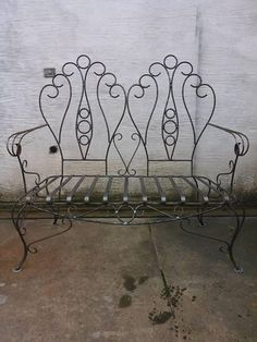 Metal Furniture, Outdoor Furniture, Outdoor Decor, Wrought Iron Window Boxes, Iron Windows, Welding Projects, Garden Art, Metal Working, Upholstery