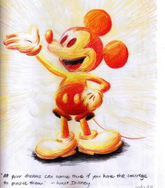 Mickey Mouse in Awe and Wonder by miki-squeak on DeviantArt