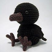 Amigurumi Raven - FREE Crochet Pattern / Tutorial