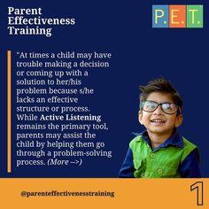 #listening #parenting #parents #activelistening #gordonmodel #gordontraining Active Listening, Decision Making, Training Programs, Problem Solving, Best Quotes, Parenting, Making Decisions, Workout Programs, Best Quotes Ever