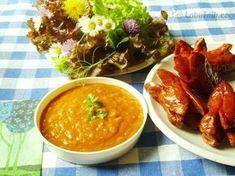 Čertovská omáčka (nejen) ke grilu Tzatziki, Pesto, Grilling, Curry, Treats, Ethnic Recipes, Food, Sweet Like Candy, Curries