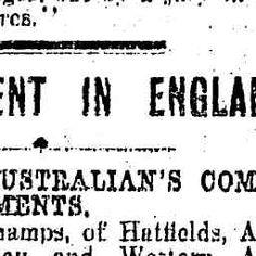 06 Apr 1922 - UNEMPLOYMENT IN ENGLAND - Trove