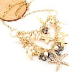 Layered Starfish Choker