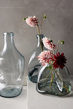 Pinched Glass Vase - anthropologie