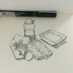 Meriender. #sketch