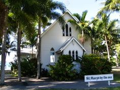 St Mary's By the Sea ~ Port Douglas QLD Australia this is the most popular chapel in Australia. Currently the waiting list is 5 years out! I couldn't resist peeking my head in to watch one of the 5 ceremony's they held that day! Wonderful Places, Beautiful Places, Beautiful Pictures, Old Churches, Catholic Churches, Saint Mary Catholic, Daintree Rainforest, Year Of The Horse, Great Barrier Reef