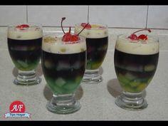 copas de fruta con gelatina - YouTube