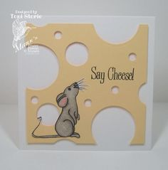 Swiss Mouse by ravengirl - Cards and Paper Crafts at Splitcoaststampers