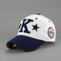 #Men's Embroidered Cotton Baseball #Cap