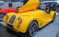 Morgan Electric Plus E Sports Car-electric car