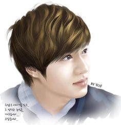 Lee Min Ho fan art.