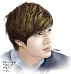 Lee Min Ho fan art.