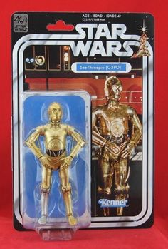 "C-3PO Star Wars the Black Series 40th Anniversary 6"" Action Figure Hasbro Kenner #Hasbro"