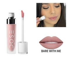 This liquid lipstick is a velvety high-fashion matte finish which envelops lips in a rich color. Glides on smoothly and stays put throughout the day. Colors may vary, the results of our colors may var
