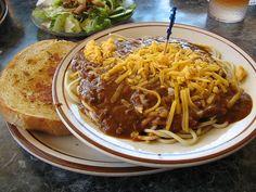 Bob's Big Boy Spaghetti and Chilli