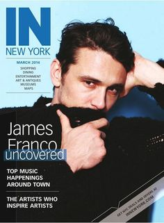 James Franco, IN New York Magazine [United States] (March 2014)