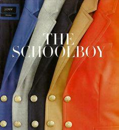 schoolboy blazer