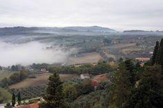 View from Montecastello di Vibio
