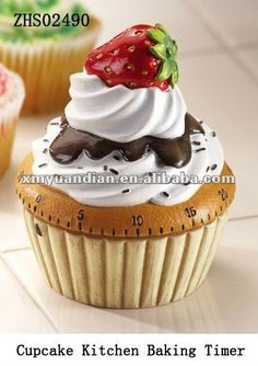 Cupcake Collectible Kitchen Baking Timer
