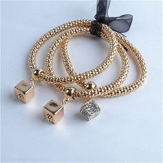 Love Charm Multi-Layer Bracelet
