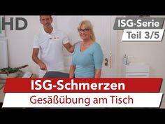 ISG Schmerzen // Übung gegen Schmerzen im Iliosakralgelenk, Hüftschmerzen - YouTube