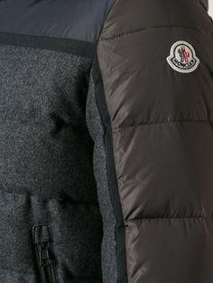 #moncler #julio #jacket #padded #parka #wool #grey #brown #blue #mensjackets #menswear #mensfashion www.jofre.eu