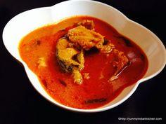 Indian Fish Curry Recipe on Yummly Veg Recipes, World Recipes, Curry Recipes, Vegetarian Recipes, Fish Dishes, Tasty Dishes, Indian Fish Recipes, Masala Dosa Recipe, Fish Curry