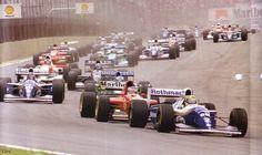 1994 Interlagos Ayrton Senna Williams