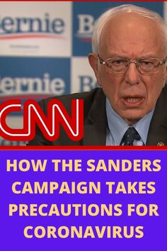 Democratic presidential candidate Sen. Bernie Sanders (I-VT) tells CNN's Chris Cuomo how he and his campaign staff continue to interact with citizens amid coronavirus fears.