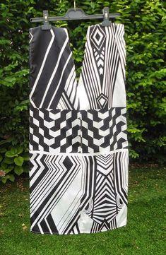 Robe facile à faire, à base de 4 rectangles de tissu.